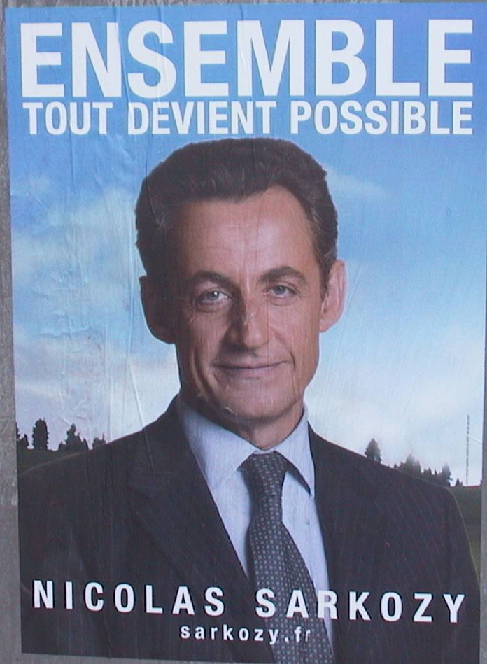 Poster Sarkozy 2007