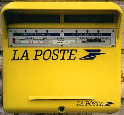 Gpspassion forums bo tes aux lettres - Boite aux lettres la poste ...